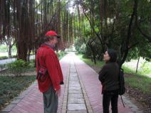 Bill and Selia at Wuyi University