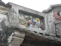 Detail on building at Majainglong Villages
