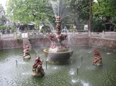 Fountain at Qinghui Gardens