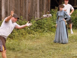 Barkerville Hammer Throw - photo by James Douglas