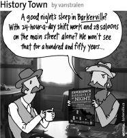 History Town 8 (Good Night's Sleep) by vanstralen
