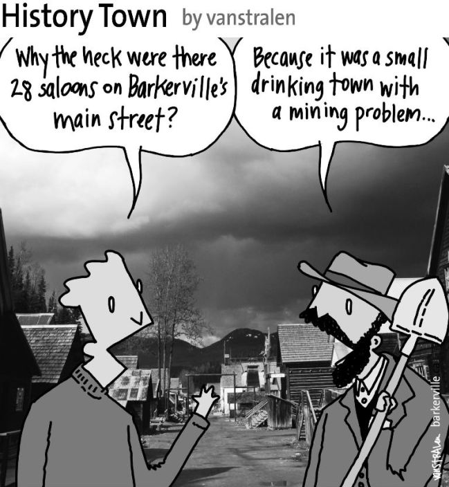 History Town (Mining Problem) by vanstralen
