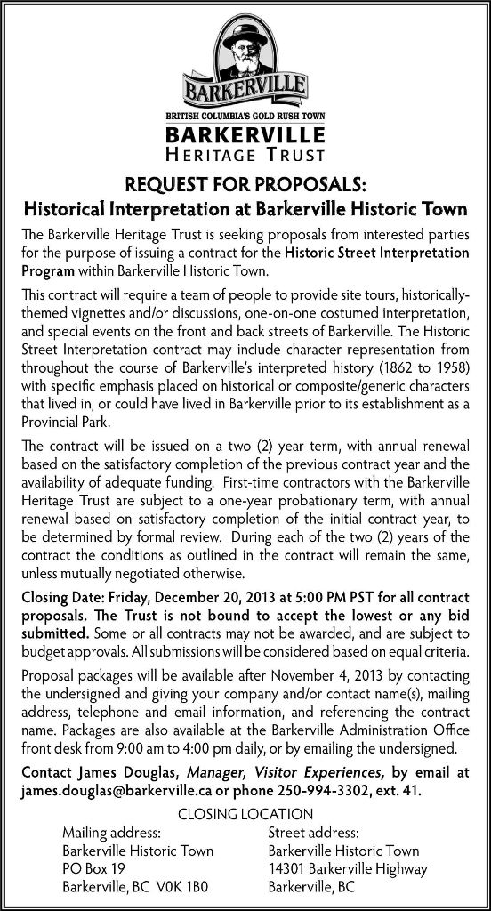 Street Interp Contract RFP Ad 13