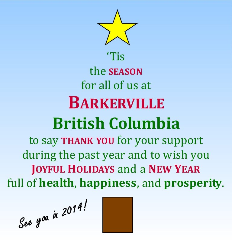 essay on barkerville Barkerville: the rise and fall of british columbia's famous gold mining town barkerville is one of the most popular essays what specific.