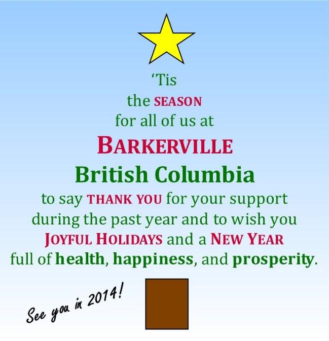 Barkerville Christmas 2013 FINAL