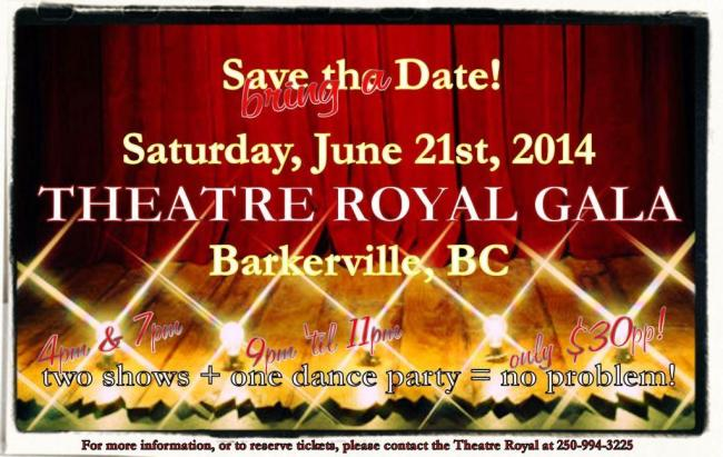 2014 TR Gala Save the Date