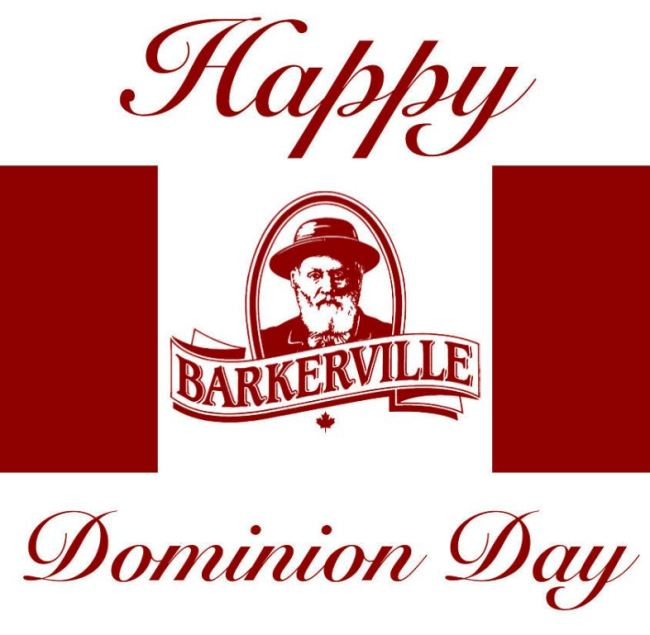 Barkerville Happy Dominion Day