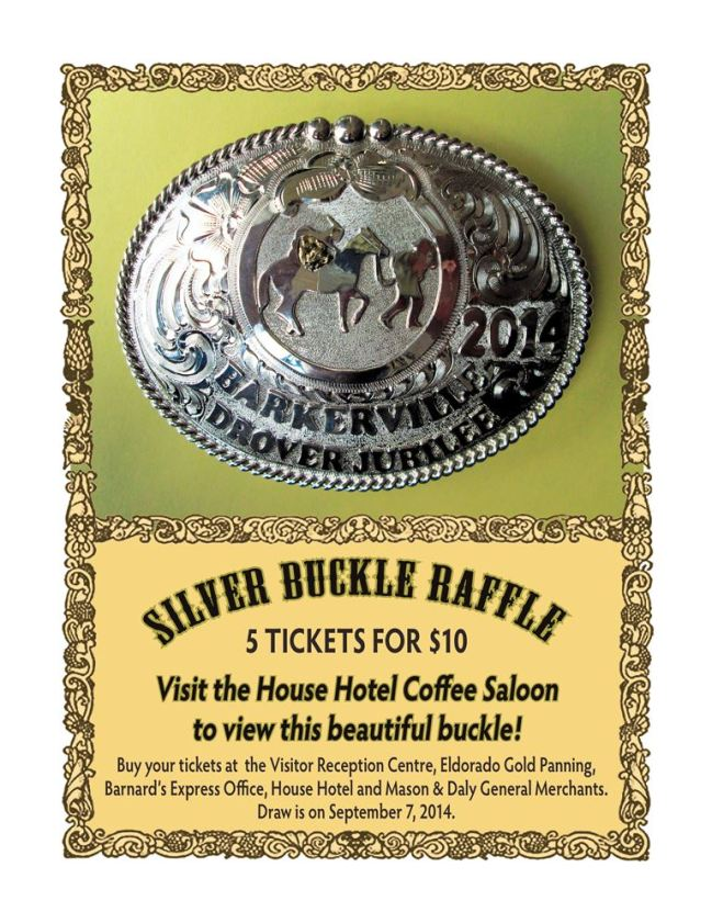 Drovers Buckle Poster 2014
