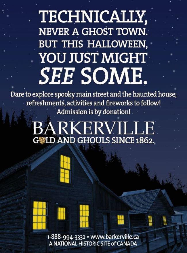 Barkerville Halloween 2014
