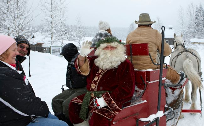 2011 Father Christmas -  photo by Thomas Drasdauskis