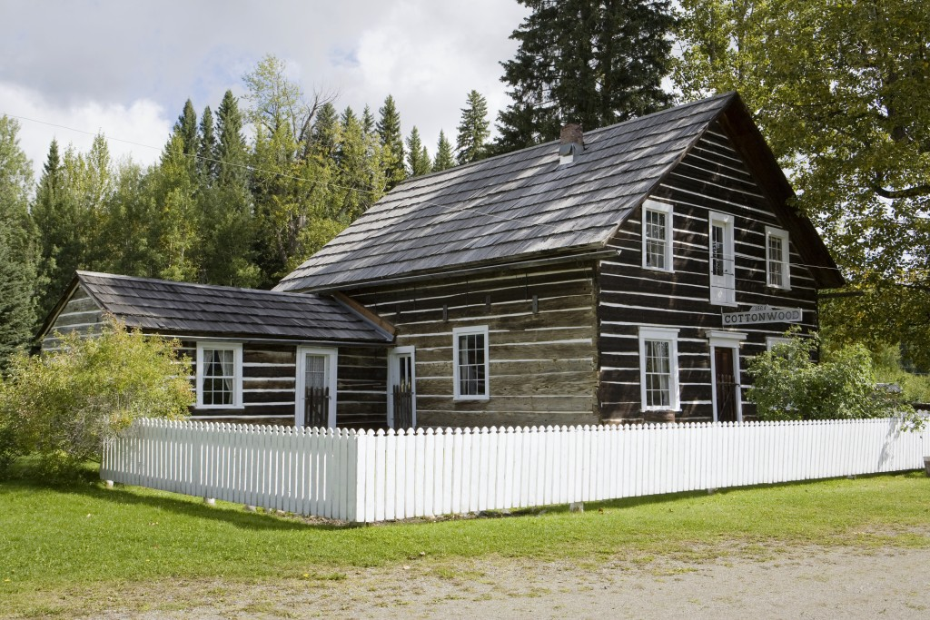 Barkerville heritage trust to manage historic cottonwood for Cottonwood house