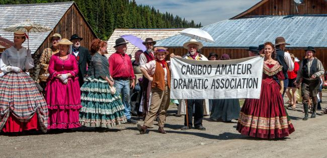 Cariboo Amateur Dramatic Association - photo by Thomas Drasdauskis