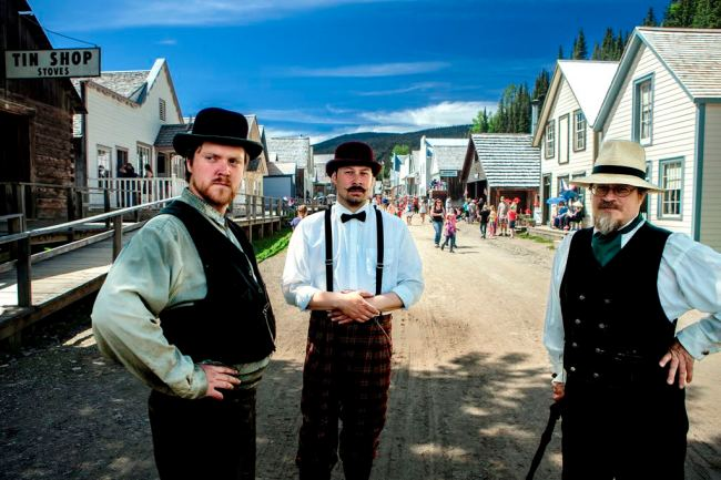 Barkerville Interpreters - photo by Thomas Drasdauskis