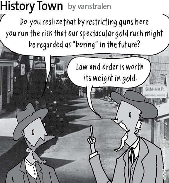 History Town 2015 (Gun Control) by vanstralen