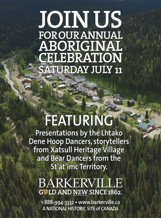 Barkerville Aboriginal Celebration 2015