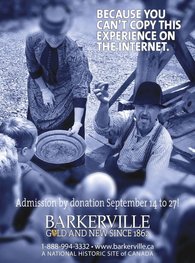 Barkerville by donation fall 2015