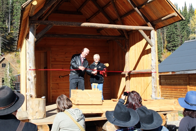 2015 Barker & Co. Discovery Shaft and Shaft House Opening