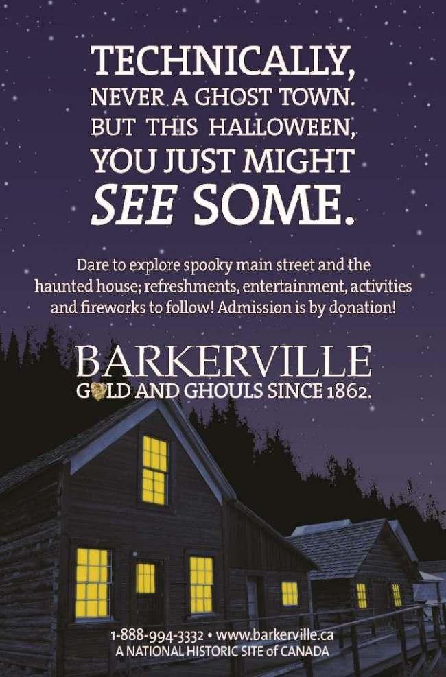 Barkerville Halloween 2015