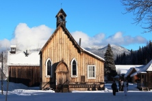 Barkerville's St. Saviour's Anglican Church