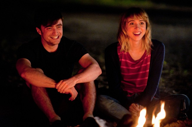 Daniel Radcliffe and Zoe Kazan (THE F WORD) - photo by Caitlin Cronenberg © 2013 F Word Productions, Inc.